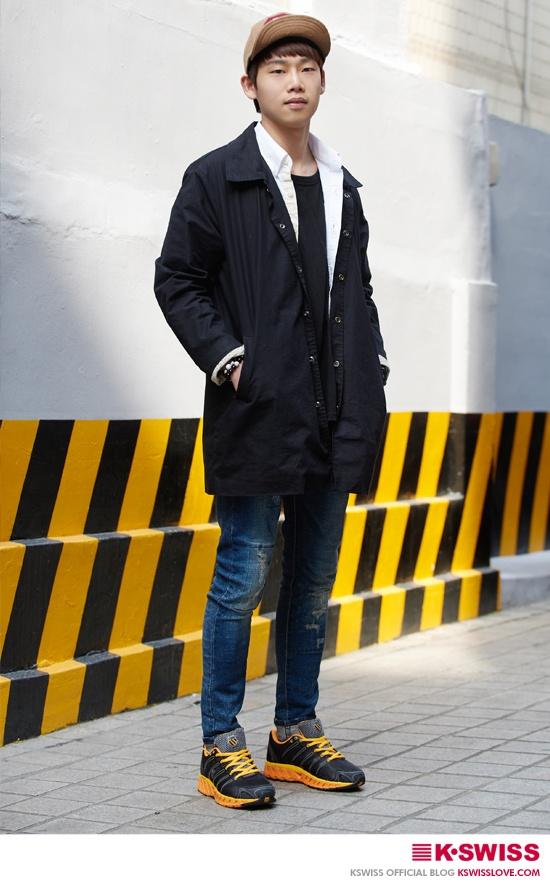 K-SWISS KOREA man style street fashion #BLADE_MAX  #kswissloveblog