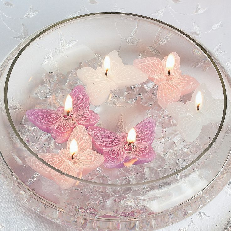 Butterfly Floating Candles - OrientalTrading.com $10.50 per dzn