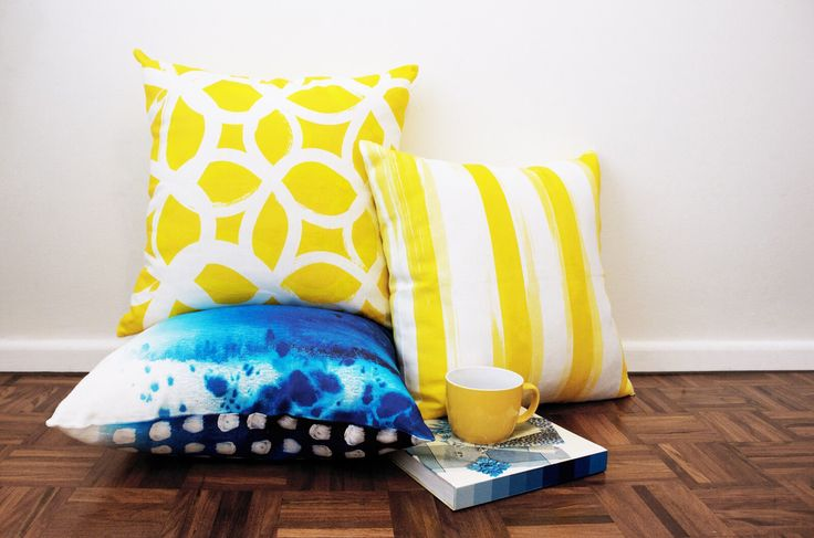 K&T European cushions. Hand made. Modern home