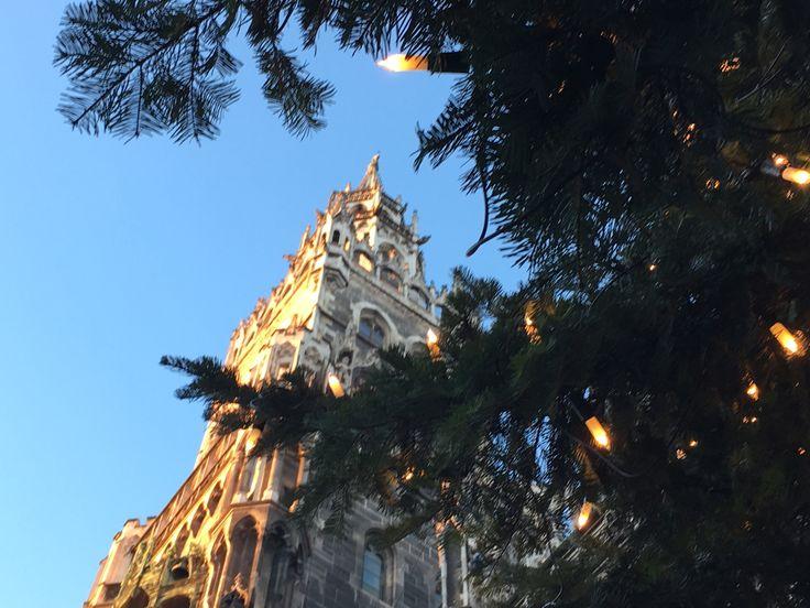 Weihnachtsmarkt München Marienplatz