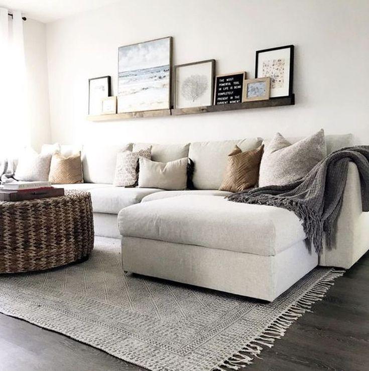 48 Inspirierende Ideen für moderne Wohnzimmerdekorationen, um Ihr Zuhause zu verwalten