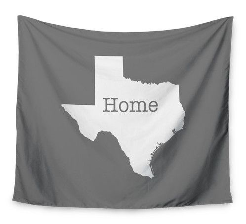 Texas Is Home by Bruce Stanfield Wall Tapestry