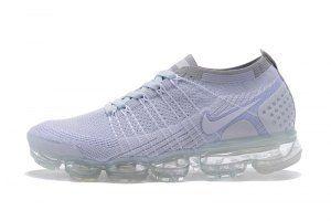 afb67e03ceb7 Mens Womens Nike Air VaporMax Flyknit 2 TPU Gray White Running Shoes Nike  Air Max Running