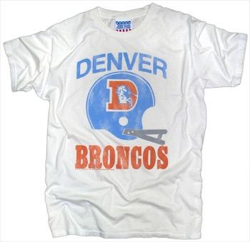 denver broncos t shirts vintage