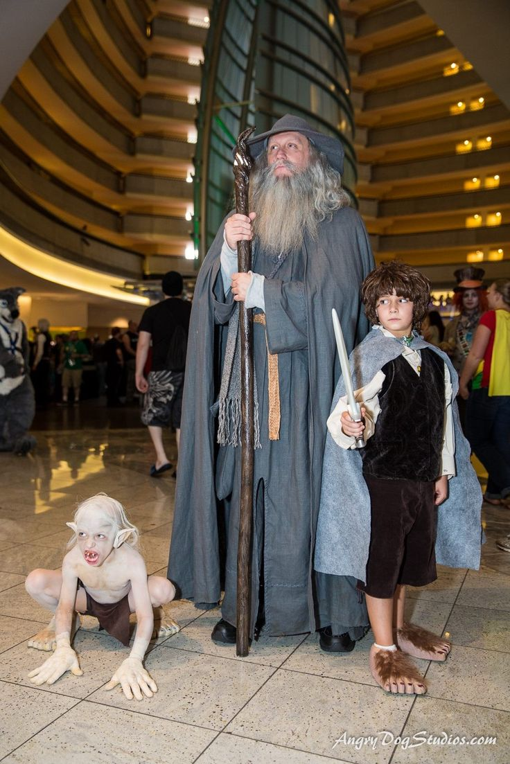 Lord of the Rings group - Dragon*Con 2014