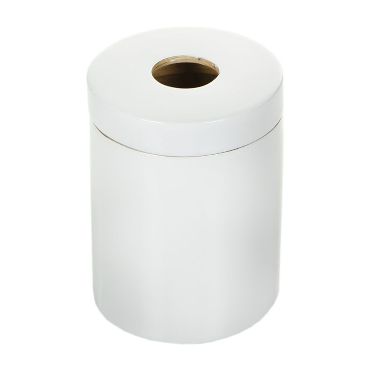 £38.50 Ringo White Glossy Bathroom Bin from Ekobo