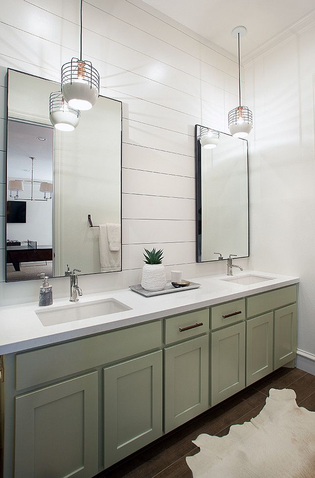 pictures to hang in master bathroom%0A Tracy Hardenburg Designs  white counter  hanging lights