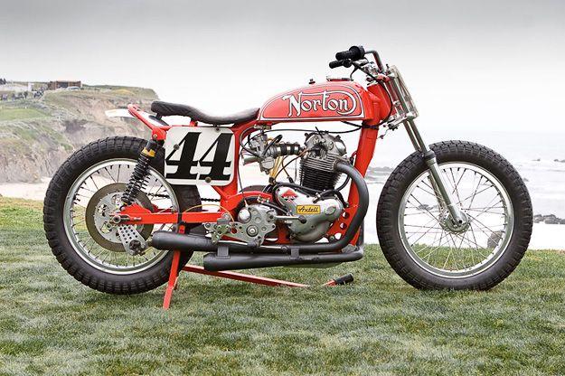 Ron Wood Norton Flat Track Racer