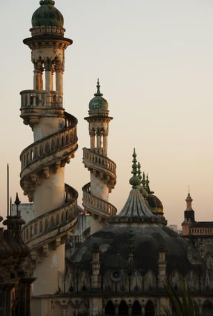 Mahabat Maqbara, India  Mahabat Maqbara mausoleum in Indo-Islamic architectural style.