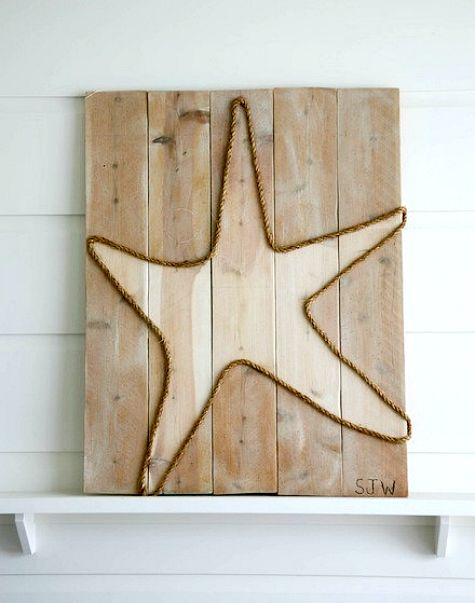 Diy wall art ideas with rope for Where to buy nautical rope for crafts