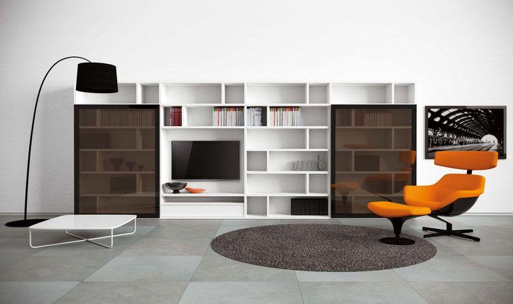 Giorno Novamobili A Spalla progettazione casa funzionale, prodotti di arredamento Bassi Arredamenti
