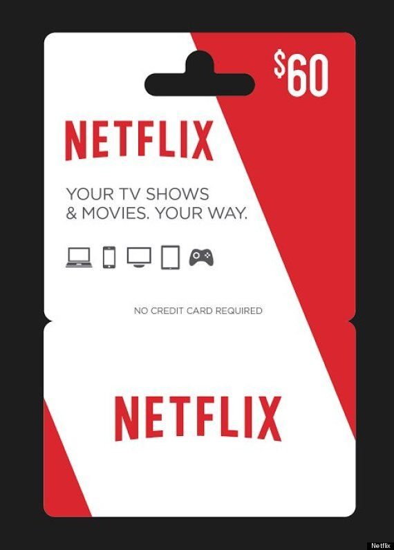 Netflix gift card would be a great gift!