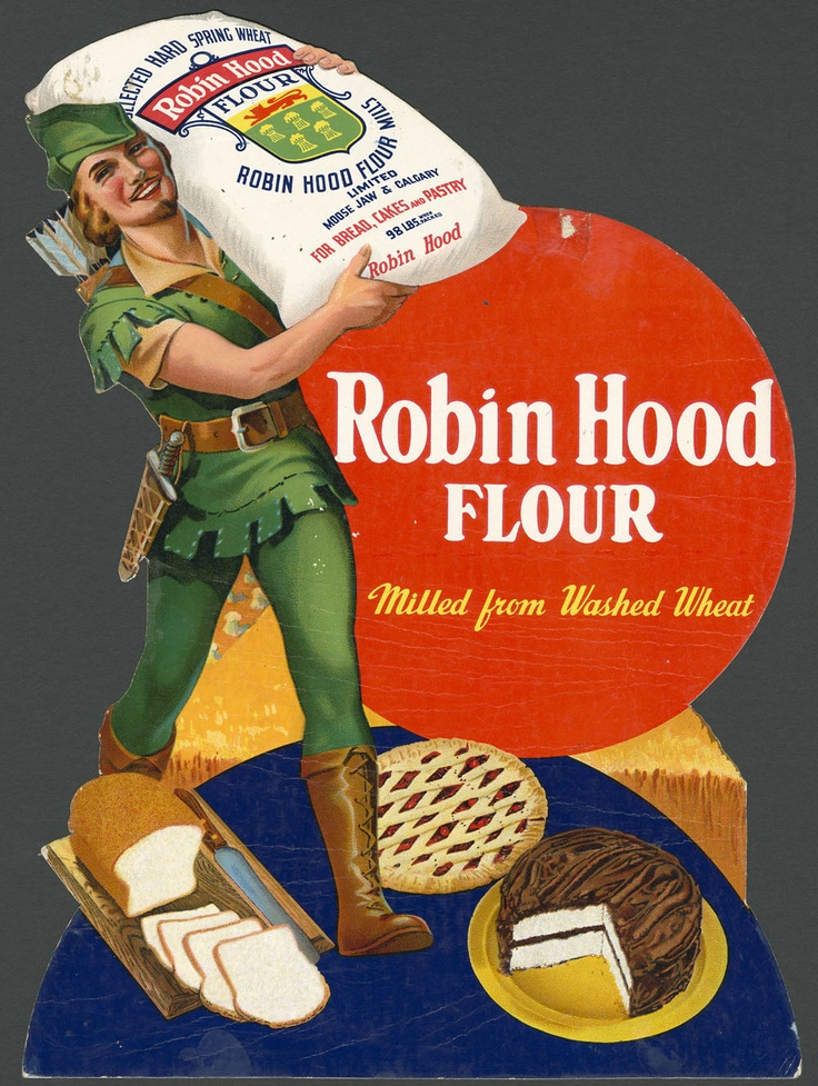 That's awesome... Robin Hood Flour