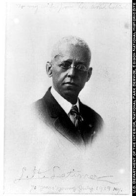 Patents Belonging To Lewis Howard Latimer: Lewis Howard Latimer - Photo of Inventor