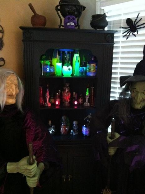 Decor Idea Halloween Pinterest