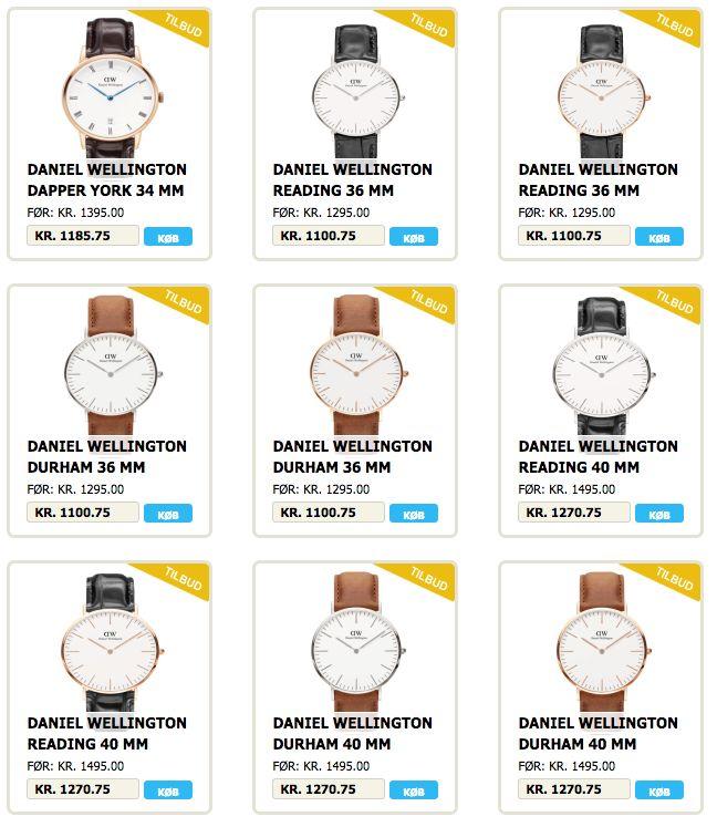 Daniel Wellington ure fra Jyderup Smykker & Ure. #DanielWellington #Ure #Ur #Smykker #Mode