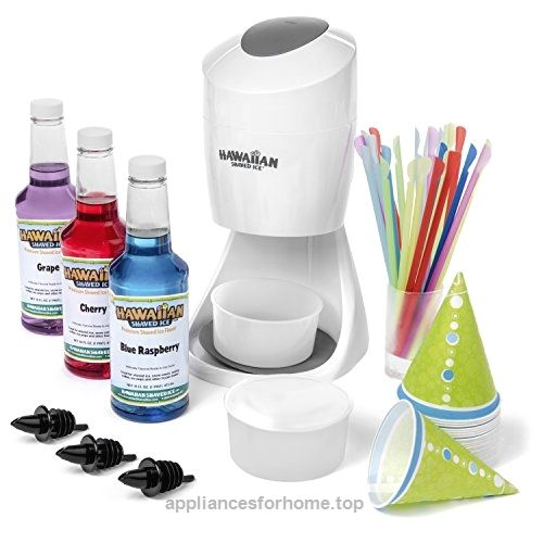 Hawaiian Shaved Ice and Snow Cone Machine Party Package  Check It Out Now     $44.99    Make your own shaved ice or snow cones at home with our Shaved Ice Party package direct from the professionals at Haw ..  http://www.appliancesforhome.top/2017/03/18/hawaiian-shaved-ice-and-snow-cone-machine-party-package/
