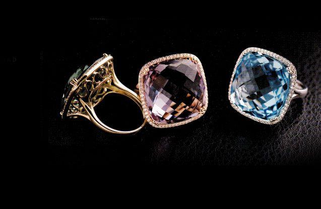 Grab a cocktail with these DABAKAROV rings. 💫  http://www.grenons.com/jewelry/dabakarov?utm_content=buffere23b7&utm_medium=social&utm_source=pinterest.com&utm_campaign=buffer