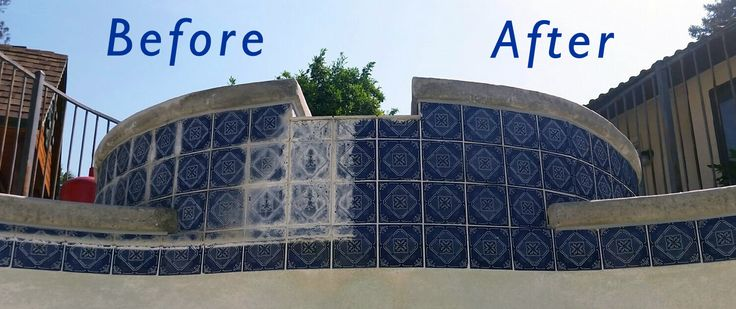 Pool Tile Scale Removal | How to Remove the scum from pool tiles - www.yourpoolservice.net