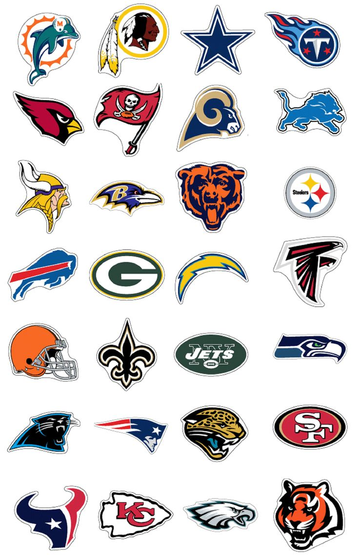 How to draw nfl logo page 2 - Visit All 32 Nfl Stadiums