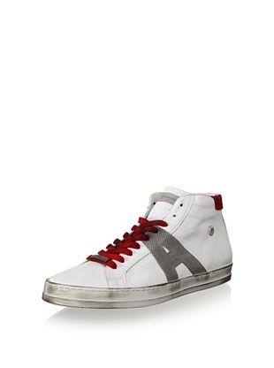 Alessandro Dell Acqua Men's Blake High Top Destressed Sneaker