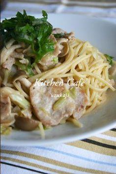 「キャベツと豚肉の味噌パスタ」uzukaji | お菓子・パンのレシピや作り方【corecle*コレクル】