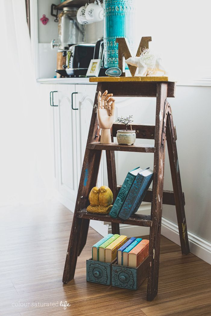 Colour Saturated Life | Vintage Ladder