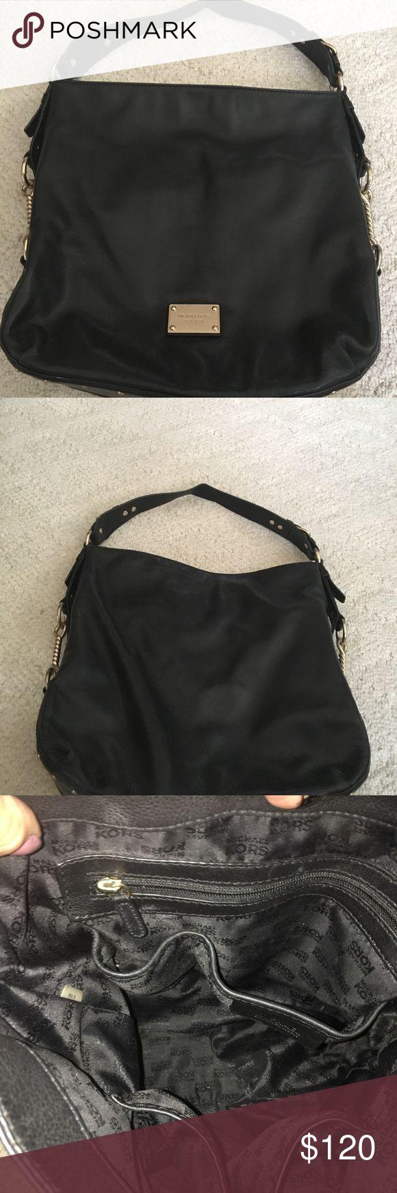 Michael KORS black leather studded purse EUC. Dust bag included MICHAEL Michael Kors Bags Shoulder Bags