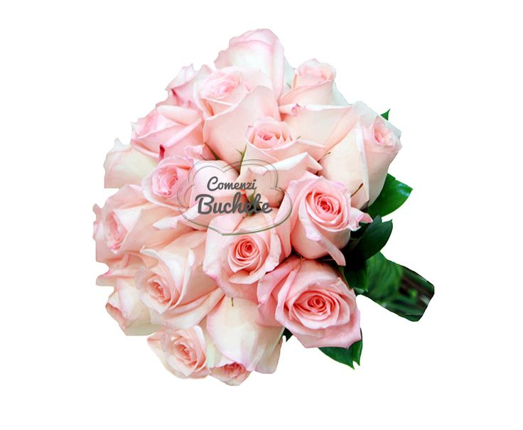 Buchet de mireasa din trandafiri roz Engagement. Simplitate, eleganta, stil. Trandafiri de Ecuador, cei mai frumosi si cei mai rezistenti.