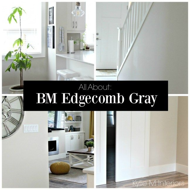 Colour Review: Edgecomb Gray, Benjamin Moore