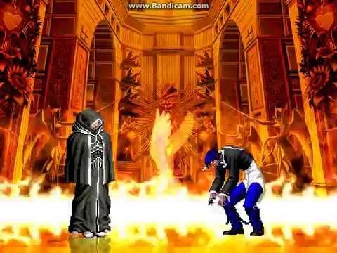 KOF WOJ Darkness ~ Family Boss vs Orochi Protagonist