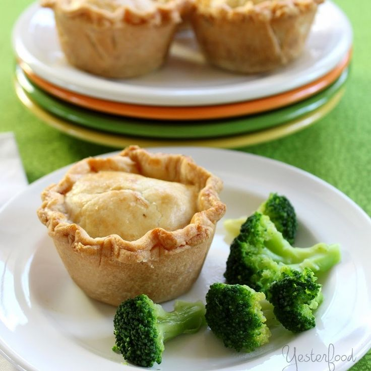 Little Beef Pot Pies~ fun little individual size servings (the kids would love these!)