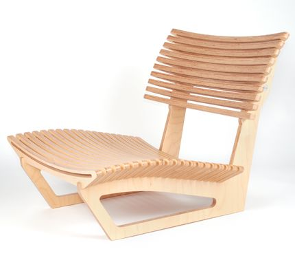Lovely lounge chair-- seems wood efficient and strong.
