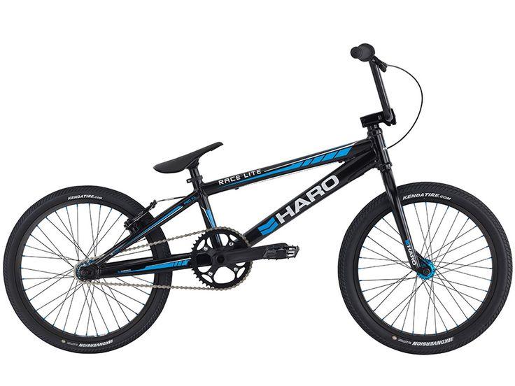 "Haro Bikes ""Race LT Pro XL"" 2016 BMX Race Bike - Gloss Black | kunstform BMX Shop & Mailorder - worldwide shipping"