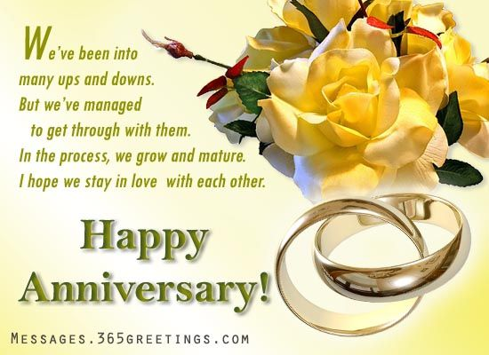 Happy Anniversary.....