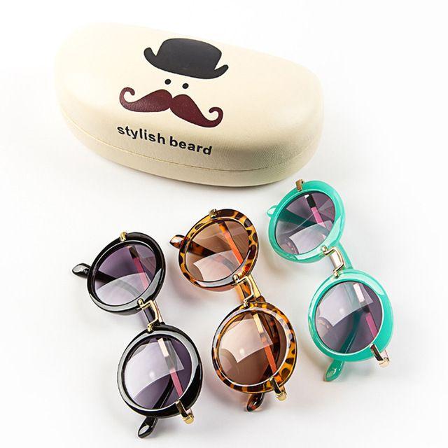 Boys Girls Kids Sunglasses Vintage Round UV 400 Children Oculos De Sol lunette de soleil | worth buying on AliExpress