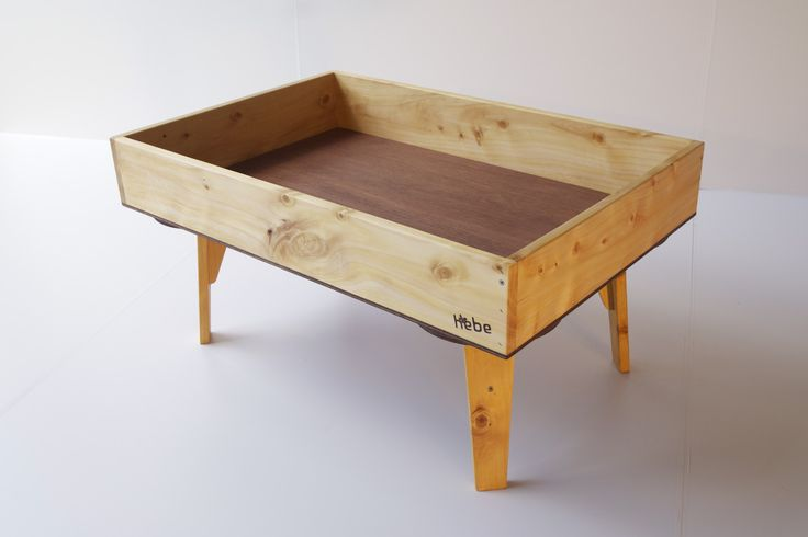 Wooden craft table - available at www.hebe.kiwi.nz