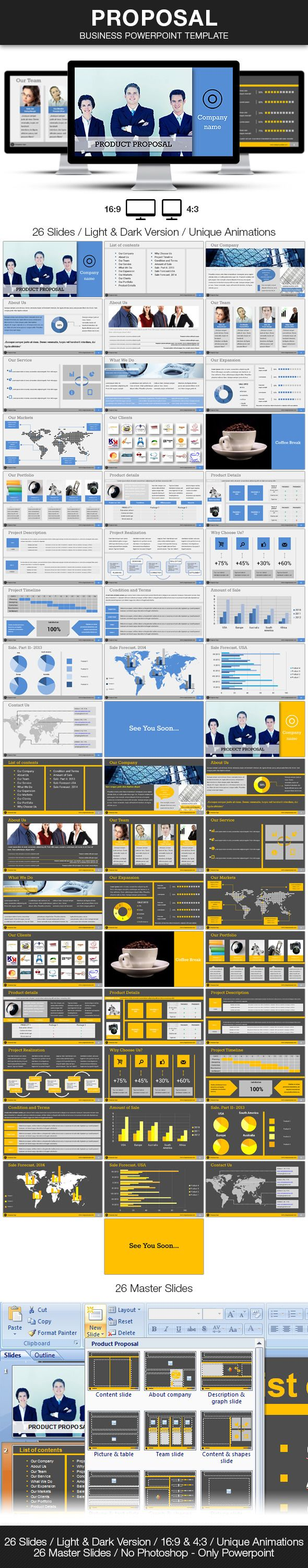 7 best best powerpoint presentations images on pinterest business proposal business powerpoint template alramifo Images