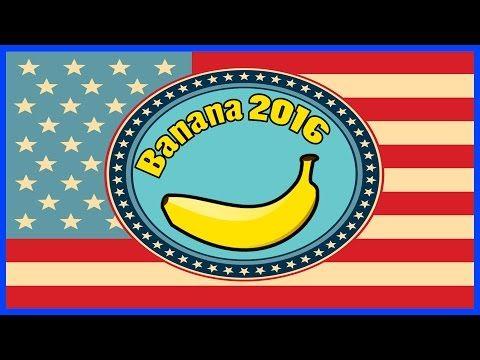 Banana's official campaign commercial for US Presidential Election 2016. See you at the voting polls. #Banana2016 #Banana4President #Vote4Banana #FuckHillary #FuckTedCruz #FuckJebBush www.youtube.com/user/mairoutv #politics #voting #vote #presidentialelection #election #election2016 #2016election #president #president2016 #2016president #obama2016 #nobama #military #ww3 #worldwar #worldwar3 #hillary #clinton #hillaryclinton #hillaryclinton2016 #hillary2016 #uspresident #USA #unitedstates…