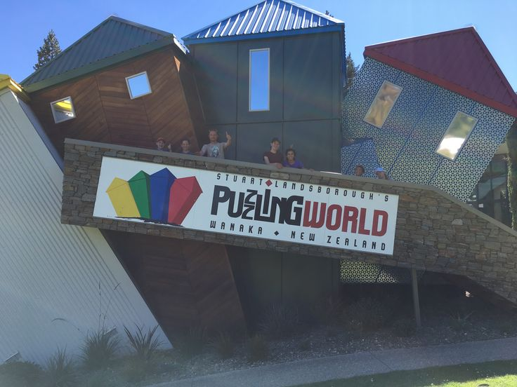 Explore Puzzling World in Wanaka, fun for the whole family.