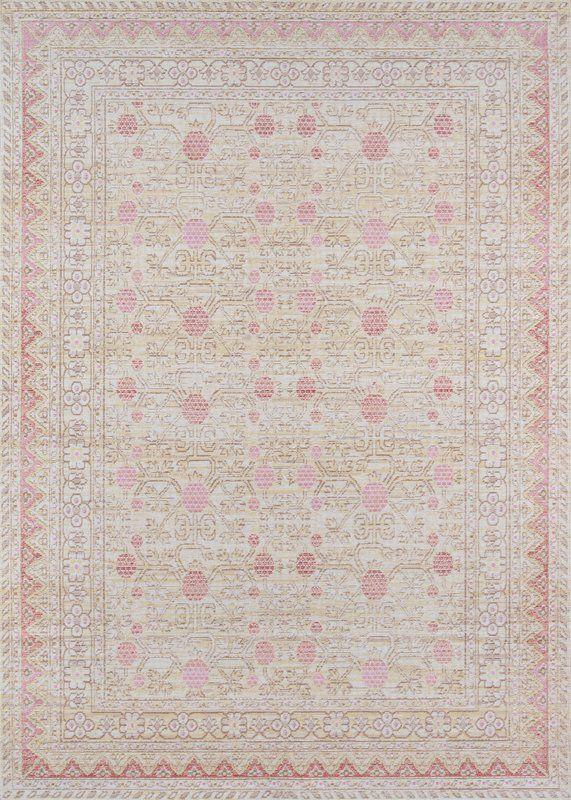 Sofian Pink Area Rug Wynne Pinterest Rugs Nursery Rugs And
