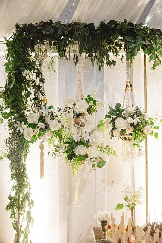 inspiration-party-suspension-plante-macramé-mariage-bohémien-mademoiselle-claudine