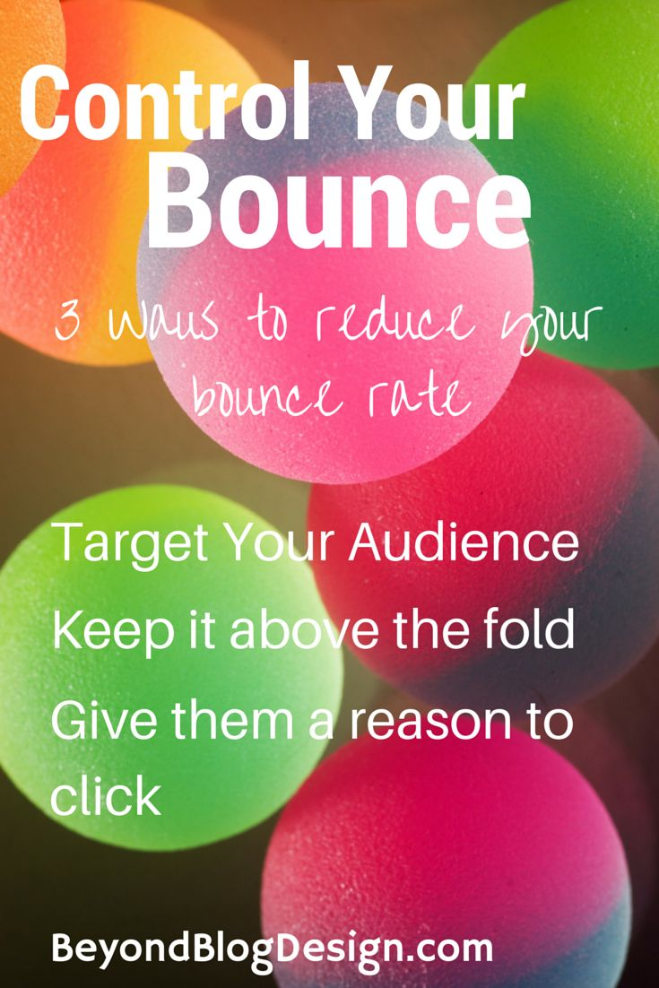 3 Ways to reduce your bounce rate on your blog!