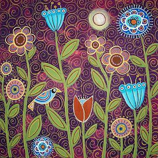 Love this patterned artwork! Karla Gerard you rock!