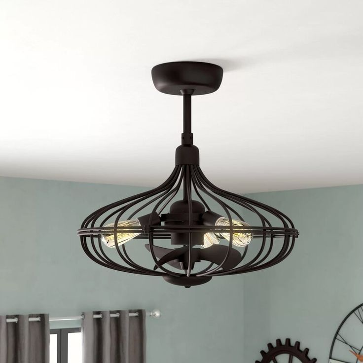 gruver 3 blades ceiling fan with remote reviews birch lane in kitchen light 2 fans living room