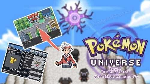 http://www.pokemoner.com/2017/11/pokemon-universe-across-time-and-space.html Pokemon Universe Across Time and Space Name: Pokemon Universe Across Time and Space Create by: buttjuice Source: Click here! Description: Your dream is to be a Pokemon Master and your cousin Tucana (when you play as Male character) or Scutum (when you play as Female character) wants to be the Pokemon Collectors. As both of you reach age of 18 you apply for Senzo Championship. Your rival Ursa apply for Senzo…