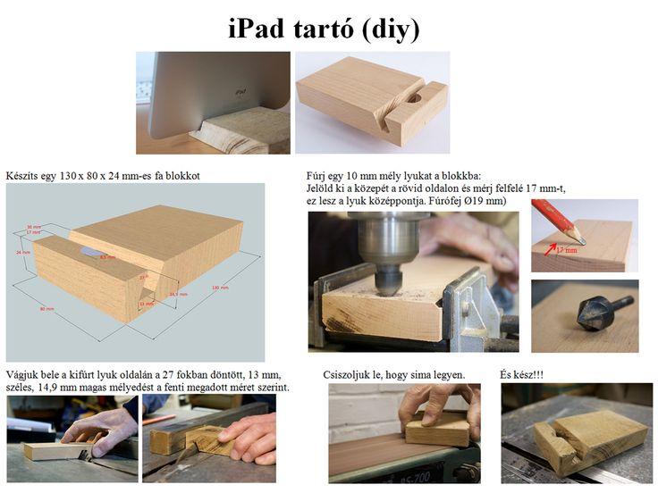 iPad stand, iPad tartó