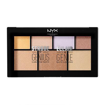 NYX Professional Makeup Strobe of Genius Illuminating Palette 20g