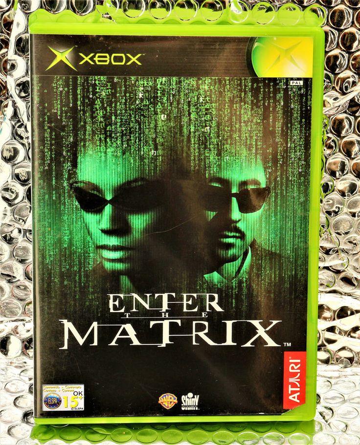XBOX GAME ENTER THE MATRIX COMPUTER GAMES RARE  Complete Retro Rare