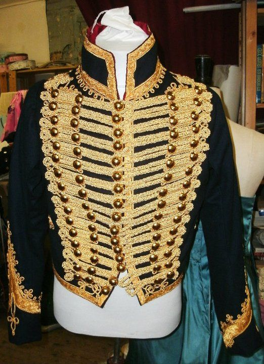 Hussar 1850 - The Sewing Forum  I'd wear that now and put it into the Interesting Fashion board!